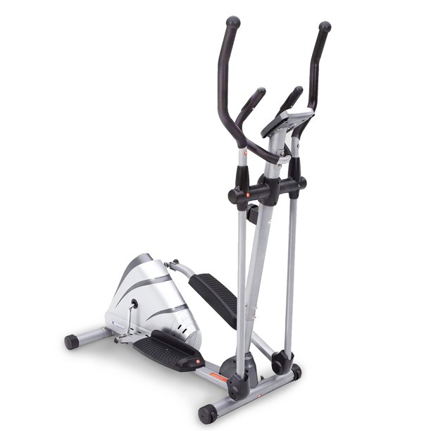 Exerpeutic Heavy Duty Magnetic Elliptical with optional Bluetooth App Tracking